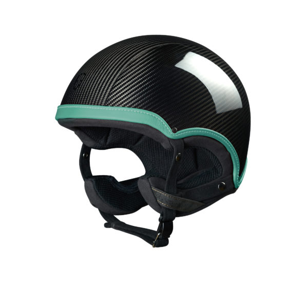Collection Epona Course Epona Course Carbon Vert casque design made in france