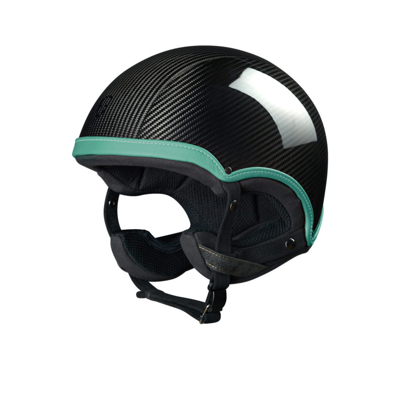 Epona racing Epona Racing Carbon Green casque design made in france